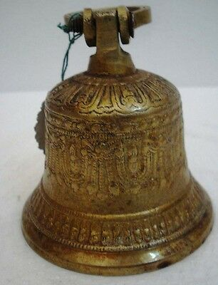BRASS Bell - Marine / Religion / Spiritual - Height: 5.25 - Weight: 0.61 (1388)