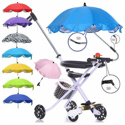 Baby Parasol Sun Umbrella Shade Maker Canopy For Pushchair Pram Buggy Universal