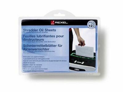 Rexel Shredder Oil Sheets A5 (Pack of 12) - Free Next Day Delivery !