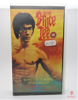 💥 The Real Bruce Lee (1977)  Vhs 💥 Same Day Dispatch 💥