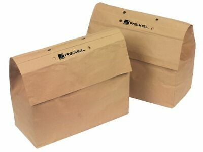 50 Rexel Recyclable Waste Bags Use With RSX1530, RSX1632, 2230, 1830 & 2232 +24h
