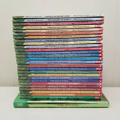 Magic Tree House 21 Book Lot Set 1 to 19 23 48 Scholastic Readers Fiction Gift