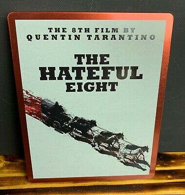 The Hateful Eight 8 Blu-ray DVD SteelBook Best Buy BluRay Blu Ray NO DIGITAL