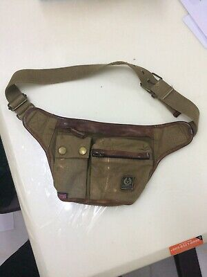 109d056597 BELSTAFF COLONIAL MESSENGER Bag Color Mountain Brown Waist Bag ...
