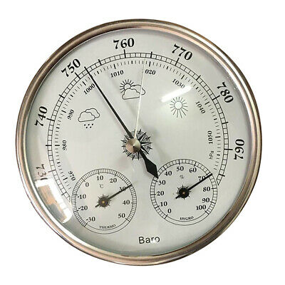 Precision 3 in 1 Barometer Weather Station Barometer Thermometer Hygrometer