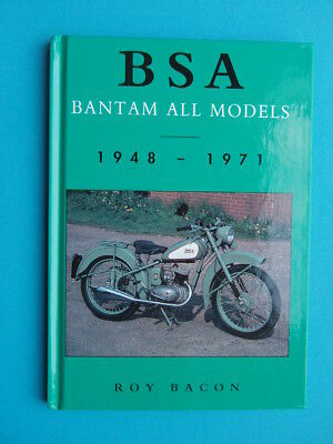 Book Bsa Bantam All Models - Roy Bacon: D1 D3 D5 D7 D10 D14 Sport, B175, Bushman