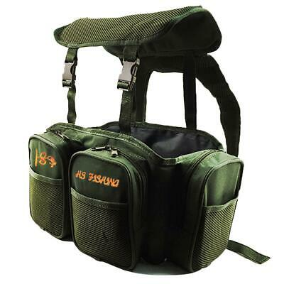 f10613450cfec Green multi-purpose fishing box Luya backpack Nylon road sub-bag Fishing  leisure