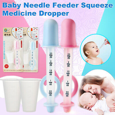 1618 Silicone Infant Feeding Dropper Pacifier Utensils Needle