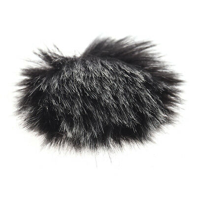 Andoer Furry Outdoor Microphone Windscreen Muff Mini Lapel Lavalier E8N2
