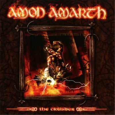 Amon Amarth-The Crusher-Reissue Cd New
