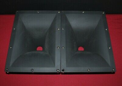 Jbl 2383 Horn Lens Pair-No Cracks-Very Nice-60 X 50 Degrees-Safely Packaged!!!