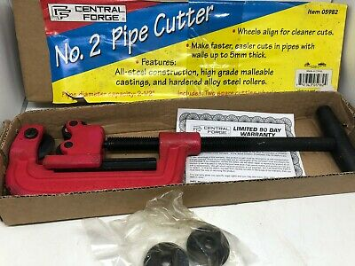 """CF CENTRAL FORGE No. 2 Model 05982  Plumbing Cutter Cuts up to 2-1/2"""" dia Pipe"""