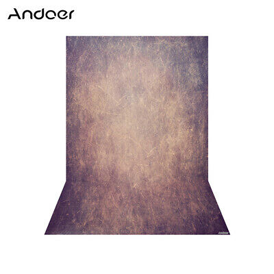 Andoer 1.5 * 2.1m/5 * 7ft Photography Background Purple Retro Wall Backdrop H6X3