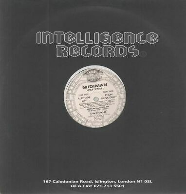 Midiman Patterns Vinyl Single 12inch NEAR MINT Intelligence