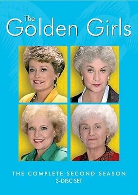 GOLDEN GIRLS COMPLETE SECOND SEASON 2 Sealed New 3 DVD Set