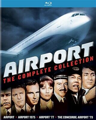AIRPORT COMPLETE COLLECTION New Blu-ray All 4 Films Airport + 75 + 77 + 79