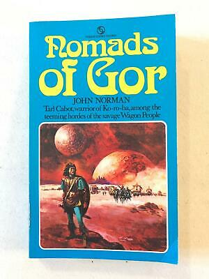 Nomads of Gor: Book 4 Gorean Cycle by John Norman Paperback 1974