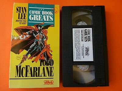 Stan Lee Invites You to Visit The Comic Book Greats: Todd McFarlane (VHS)