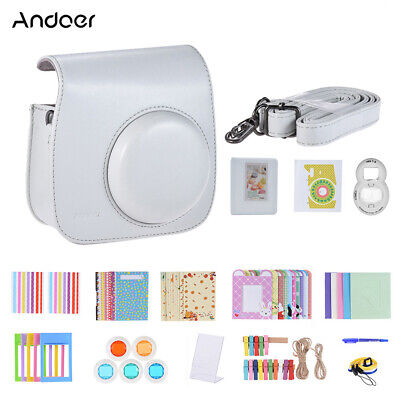 Andoer 14 in 1 Instant Camera Accessories Bundle Kit for Fujifilm Instax E1S6