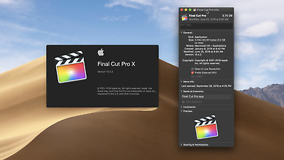 Final Cut Pro X FR  POUR  MAC