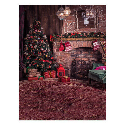 Andoer 1.5*2 meters / 5*7 feet Christmas Holiday Theme Background Photo Q4T4