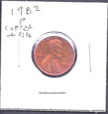 USA • 1982p, 1972s • Lincoln Head Cent Proofs •