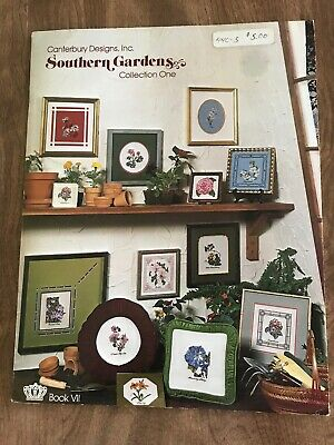 SOUTHERN GARDENS/by Canterbury Designs, Inc./Collection One/Cross Stitch Bookl