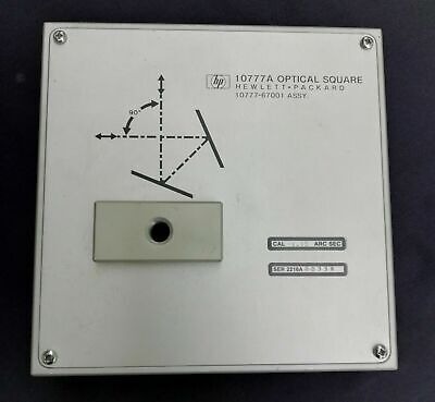 HP Hewlett Packard Agilent 10777A Optical Square / Squareness - Excellent
