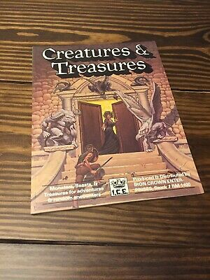 CREATURES AND TREASURES (ROLEMASTER #1400) By Peter C. Fenlon