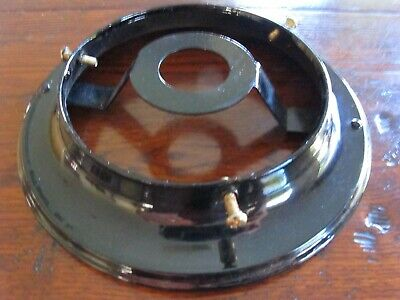 "Diy Black 4'1/4""  Ceiling Flush  Mount Fitting For Batten Art Deco Light Shade"