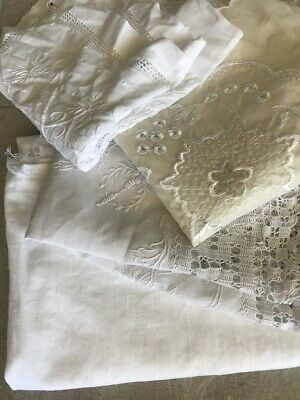 Vintage Antique Lace Craft Sewing Embroidery AS IS repurpose Lot