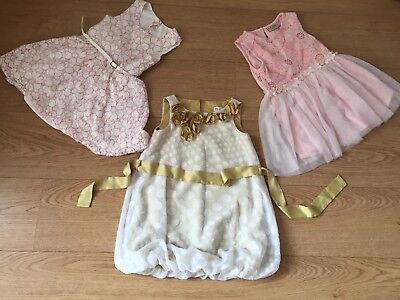 Next, M&S Girls Special Occasion Party Dress, Summer Dress Age 1-2 Years