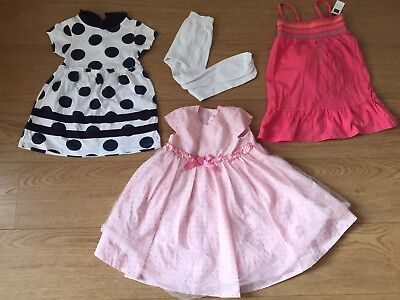 Gap Girls Special Occasion Party Dress, Girls Summer Dress Bundle Age 1-2 Years