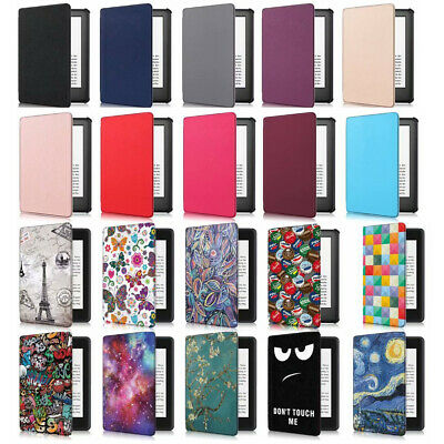 """Flip Smart PU Leather Case Cover For All-New Kindle 10th Generation 2019 6"""" Inch"""