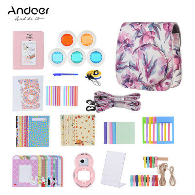 Andoer 14 in 1 Accessories Bundle for Fujifilm Instax Mini 8/8+/8s/9 with Q3X4