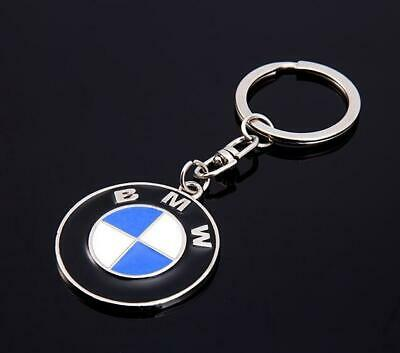 3D Metal Key Chain Key Ring car logo Keychain pendant Key Holder for BMW