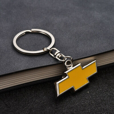 3D Metal Key Chain Key Ring car logo Keychain pendant Key Holder for Chevrolet