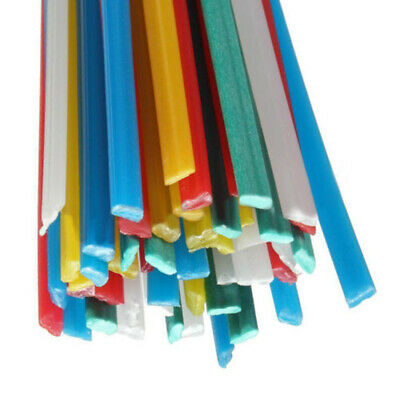 50Pcs ABS/PP/PE/PVC Plastic Welding Rods Welding Sticks For Hot Air Gun Welders