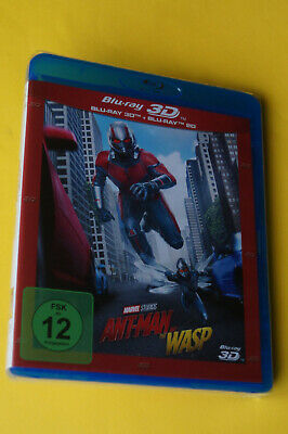 Ant-Man and the Wasp in 3D-2 Blu Ray-NEU/OVP