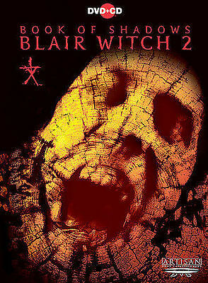 Book of Shadows: Blair Witch 2 (DVD, 2001, DVD-Video and CD Soundtrack Sensormat