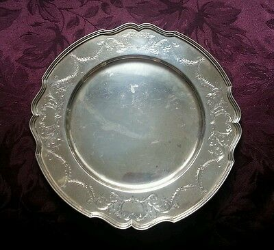 Sterling Silver Old Reed & Barton Round Tray