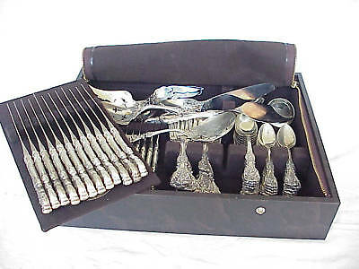 "97pc Reed & Barton ""FRANCIS I"" Sterling Silver Flatware"