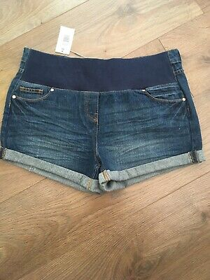 New With Tags Denim Maternity Shorts Size 10