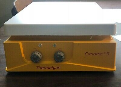 Thermolyne Cimarec 3 Hot Plate Magnetic Stirrer SP47235