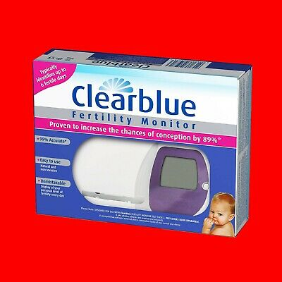Clearblue Fertility Monitor Ovulation Pregnancy 99% Accurate Helps Conceive Baby