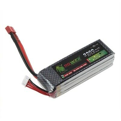 5X(golden lion POWER 4S Lipo Battery 14.8v 2200mAh 30C RC Helicopter RC Car 2O1)