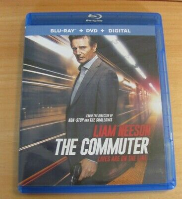 The Commuter (Blu Ray + DVD, 2018) Liam Neeson