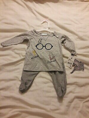 a4c81c537 HARRY POTTER BABY Boys' Layette Clothing Set Bodysuit Pants with ...