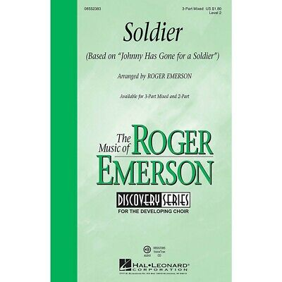 Hal Leonard Soldier (Discovery Level 2) 3-Part Mixed arranged by Roger Emerson