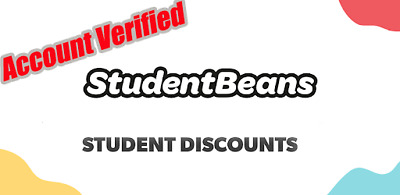Student Beans  ✔ Student Discounts ✔ 1 Year  ✔ Account Verified